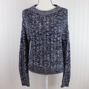 Active USA Cable Knit Sweater Marled